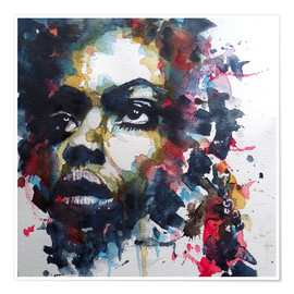 Premium-Poster Nina Simone : My Baby Just Cares For Me