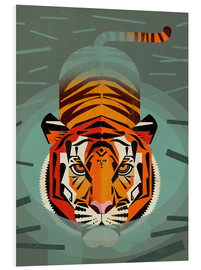 Forex  Swimming Tiger - Dieter Braun