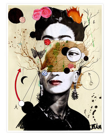 Premium-Poster Deconstructed Frida