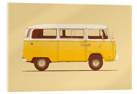 Acrylglas  Yellow Van - Florent Bodart
