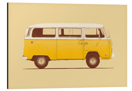Alubild  Yellow Van - Florent Bodart