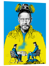 Hartschaumbild  Breaking bad - Paola Morpheus