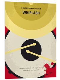 chungkong - No761 My Whiplash minimal movie poster