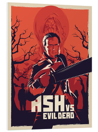 Hartschaumbild  Ash vs. Evil Dead - Fourteenlab