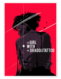 Premium-Poster  The Girl with The Dragon Tattoo - Fourteenlab