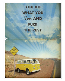 2ToastDesign - Alternative Little Miss Sunshine retro art