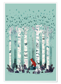 Poster The Birches