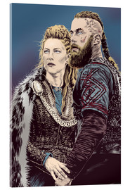 Acrylglasbild  The Vikings - Paola Morpheus