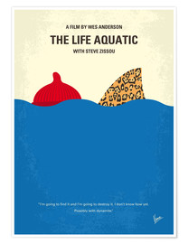 Premium-Poster  The Life Aquatic - chungkong