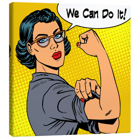 We can do it! Popart