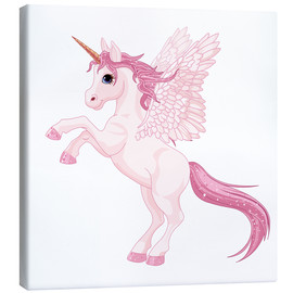 Leinwandbild  Mein Einhorn - Kidz Collection
