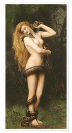 Premium-Poster  Lilith - John Collier