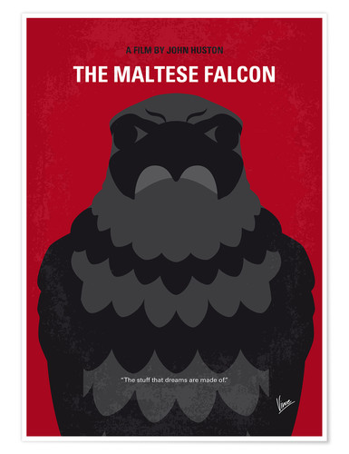Premium-Poster The Maltese Falcon