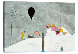 Leinwandbild  Winter Bild - Paul Klee