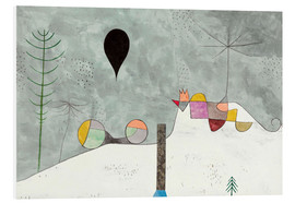 Hartschaumbild  Winter Bild - Paul Klee