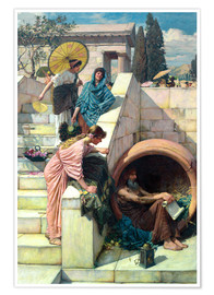 Premium-Poster  Diogenes - John William Waterhouse