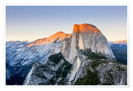 Yves Marcoux - Half Dome bei Sonnenuntergang