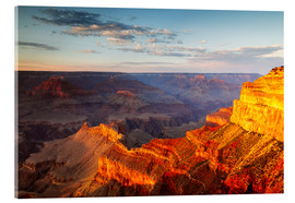 Acrylglas  Sonnenuntergang am Grand Canyon South Rim, USA - Matteo Colombo