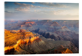 Acrylglas  Sonnenaufgang von Grand Canyon South Rim, USA - Matteo Colombo
