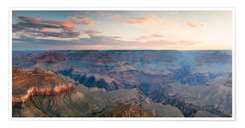 Matteo Colombo - Panorama-Sonnenaufgang von Grand Canyon, Arizona, USA
