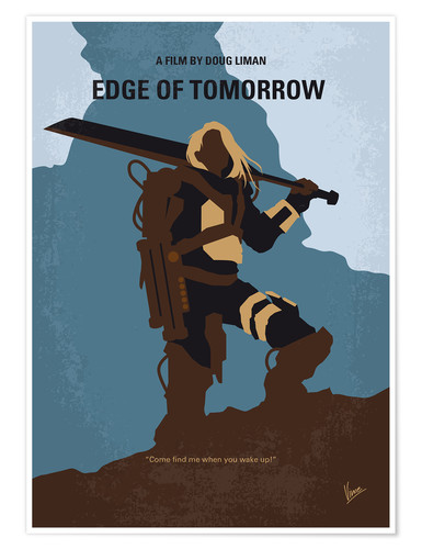 Premium-Poster Edge Of Tomorrow