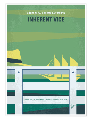 Premium-Poster Inherent Vice