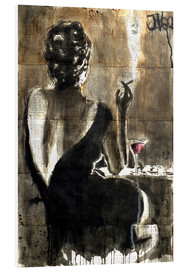 Hartschaumbild  Cocktail - Loui Jover