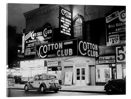 Acrylglas  Cotton Club in Harlem, New York