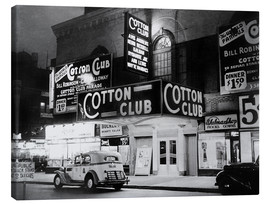 Leinwandbild  Cotton Club in Harlem, New York