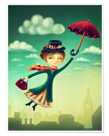 Premium-Poster Mary Poppins
