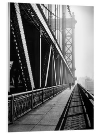 Hartschaumbild  Manhattan Bridge 1936 - Christian Müringer