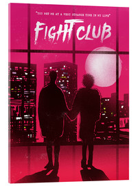 Acrylglasbild  Fight Club (Englisch) - 2ToastDesign