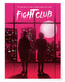 Premium-Poster Fight Club Filmszene