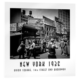 Christian Müringer - Historisches New York: Union Square, 14th Street and Broadway
