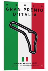chungkong - My F1 MONZA Race Track Minimal Poster