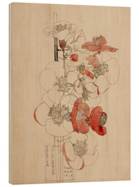 Holzbild  Japonica - Charles Rennie Mackintosh