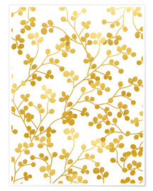Premium-Poster  Golden Vines - Uma 83 Oranges