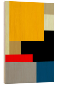 Holzbild  MODERNISM ONE - THE USUAL DESIGNERS