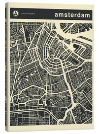Jazzberry Blue - AMSTERDAM CITY MAP