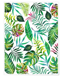 Poster Tropical Flora
