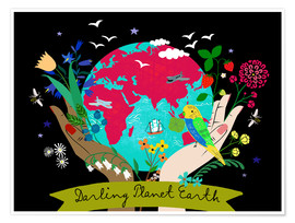 Premium-Poster Darling Planet Earth