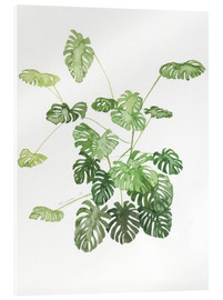 Acrylglas  Monstera - Jennifer McLennan
