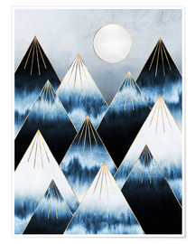 Premium-Poster Frost Mountains