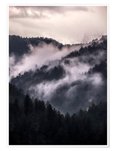 Premium-Poster  Smoky Mountains