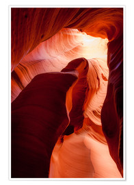 Peter Wey - Formation in Canyon X slot canyon, Page, Arizona, USA