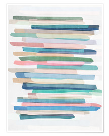 Mareike Böhmer Graphics - Pastel Stripes 1