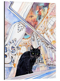 Alubild  Cat in the Hermitage, Saint-Petersburg - Anastasia Mamoshina