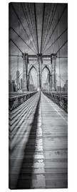 Leinwandbild  NEW YORK CITY Brooklyn Bridge Panorama - Melanie Viola