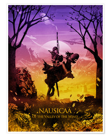 Premium-Poster Nausicaä of the Valley of the Wind