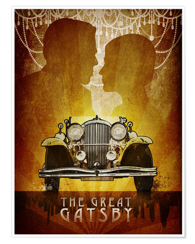 Premium-Poster The Great Gatsby